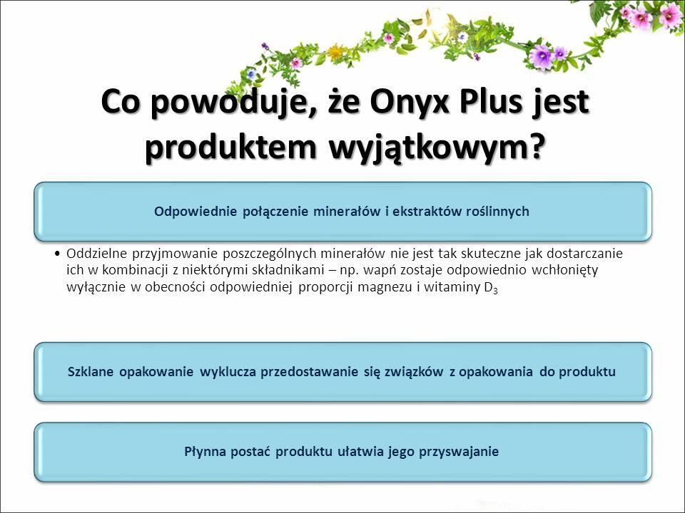 Co powoduje, że Onyx Plus jest produktem wyjątkowym