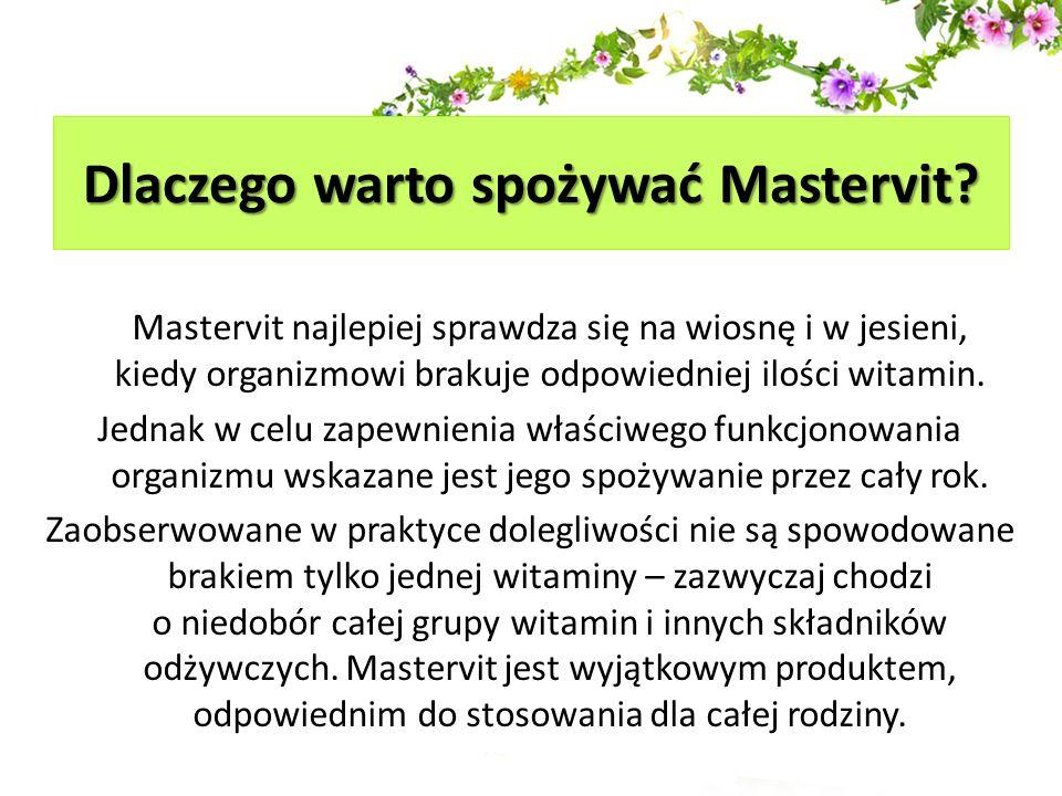 Dlaczego warto spożywać Mastervit