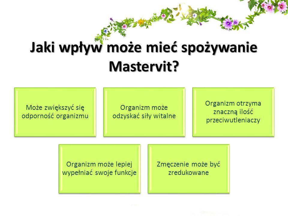 Jaki wpływ może mieć spożywanie Mastervit