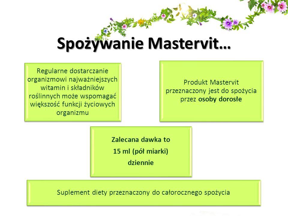 Spożywanie Mastervit…
