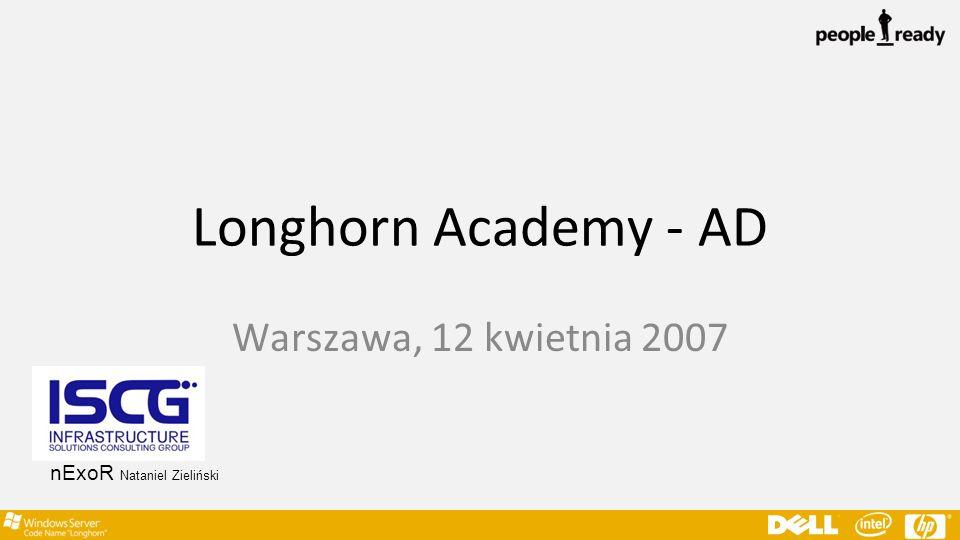 Longhorn Academy - AD Warszawa, 12 kwietnia 2007