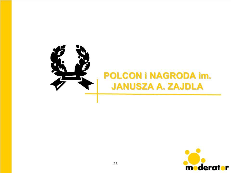POLCON i NAGRODA im. JANUSZA A. ZAJDLA