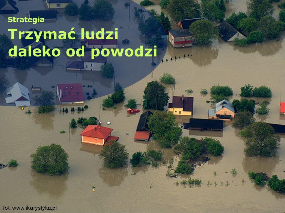 Strategia Trzymać ludzi daleko od powodzi