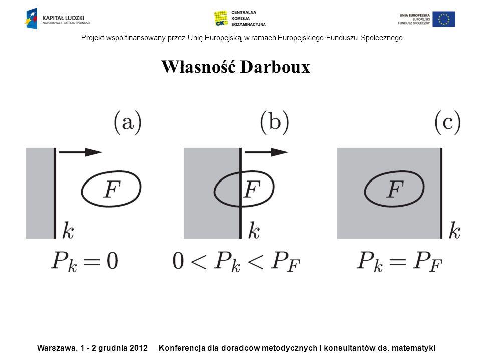 Własność Darboux Własność Darboux
