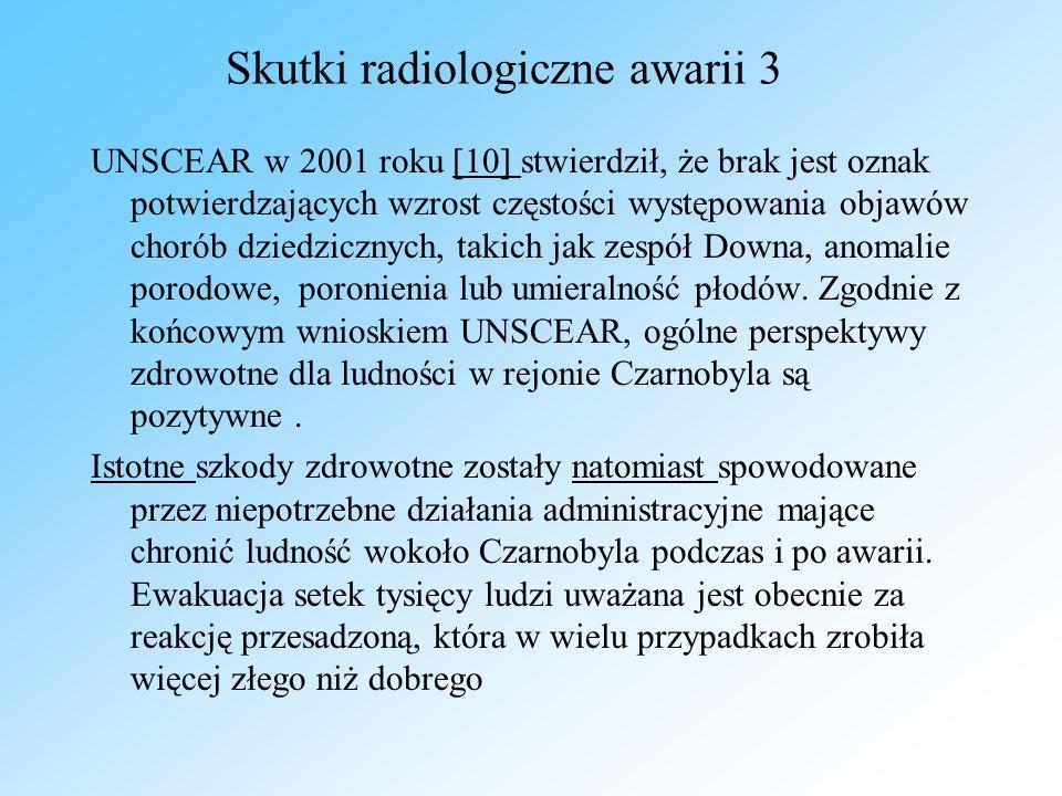 Skutki radiologiczne awarii 3