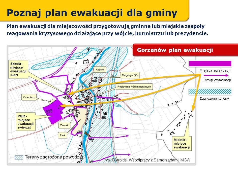 Poznaj plan ewakuacji dla gminy