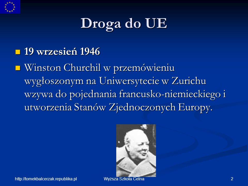 Droga do UE19 wrzesień 1946.