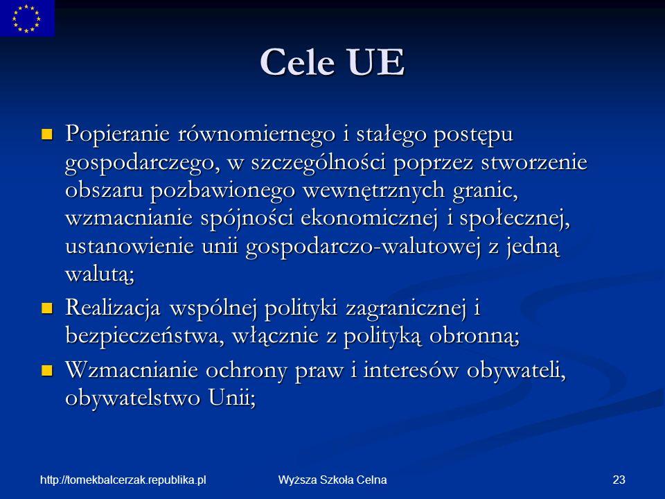 Cele UE