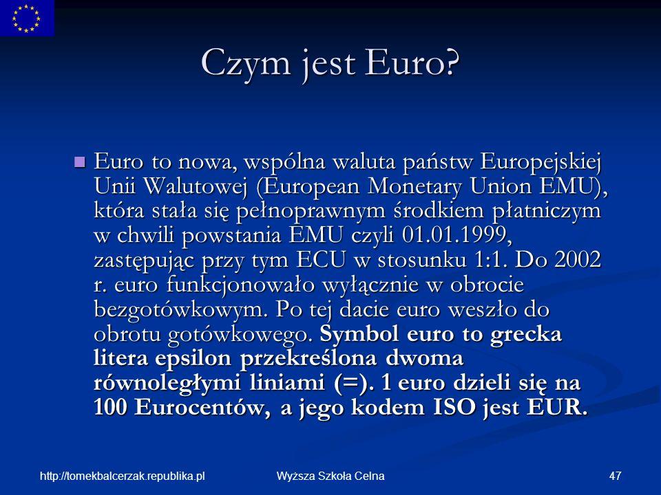 Czym jest Euro