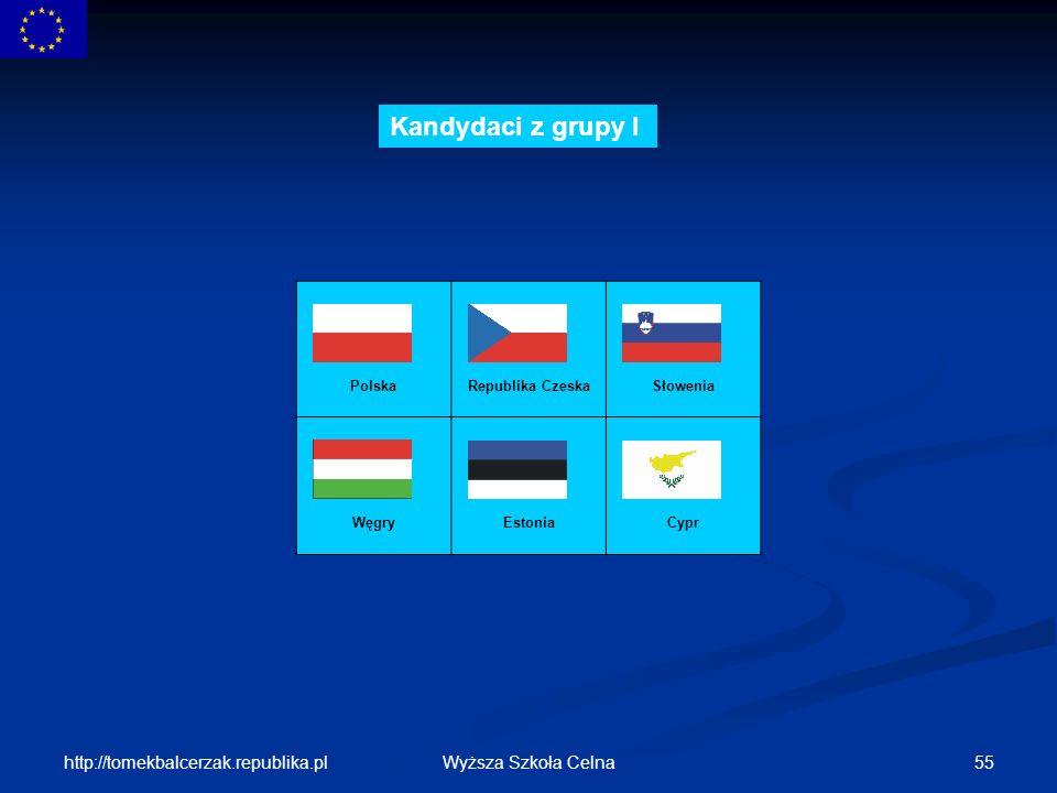 Kandydaci z grupy I http://tomekbalcerzak.republika.pl