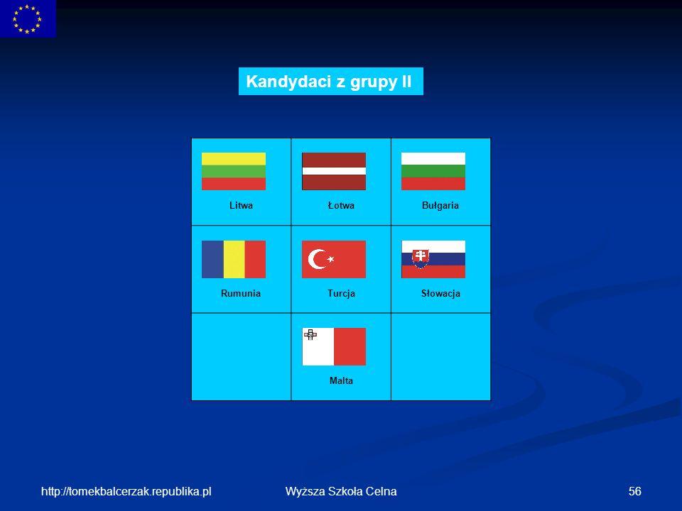 Kandydaci z grupy II http://tomekbalcerzak.republika.pl