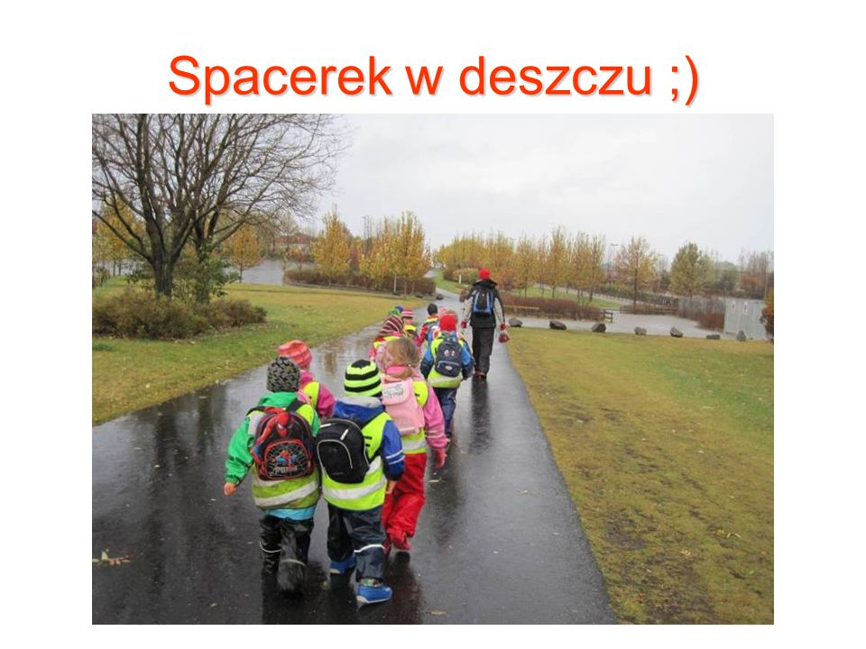 Spacerek w deszczu ;)