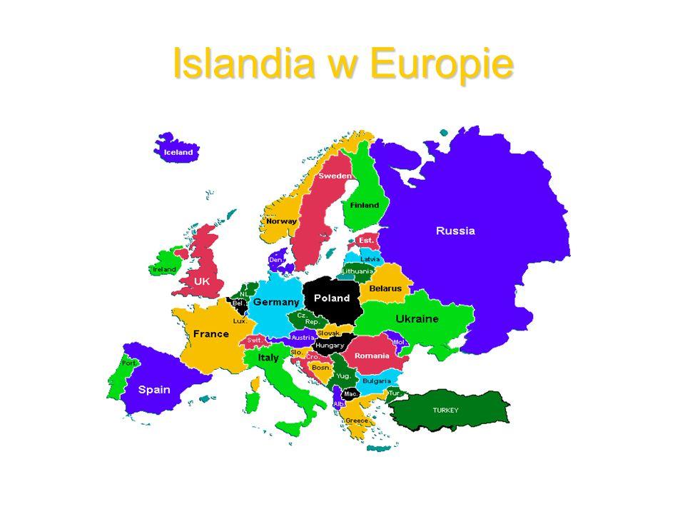 Islandia w Europie