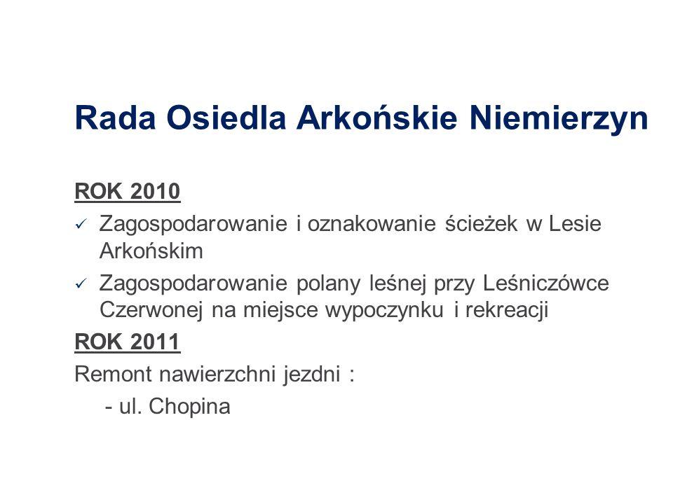 Rada Osiedla Arkońskie Niemierzyn