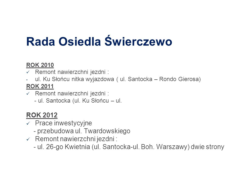 Rada Osiedla Świerczewo