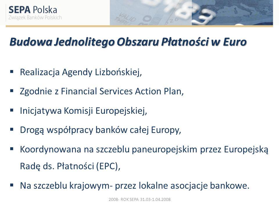 Budowa Jednolitego Obszaru Płatności w Euro