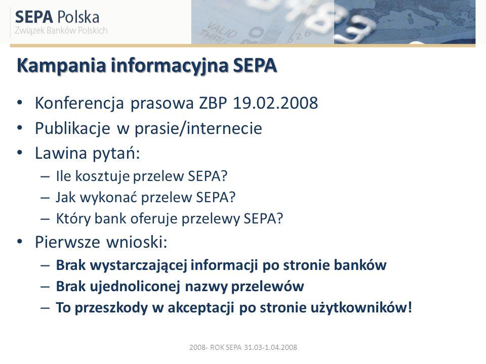 Kampania informacyjna SEPA