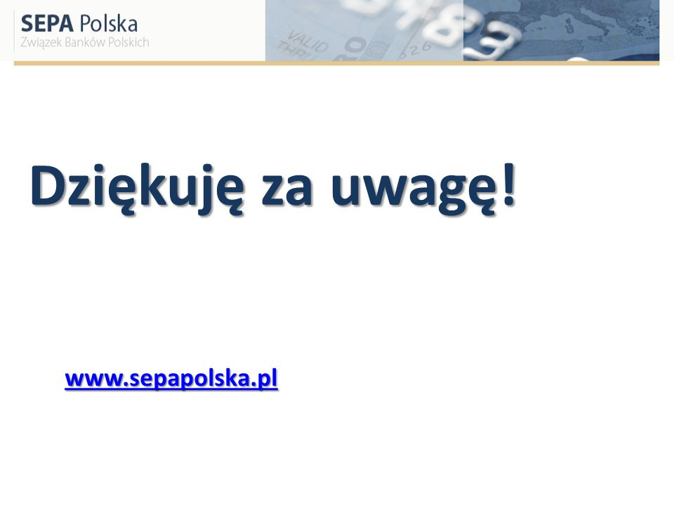 Dziękuję za uwagę! www.sepapolska.pl