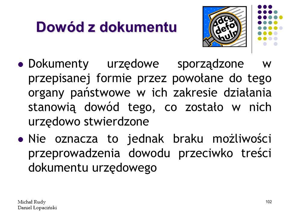 Dowód z dokumentu