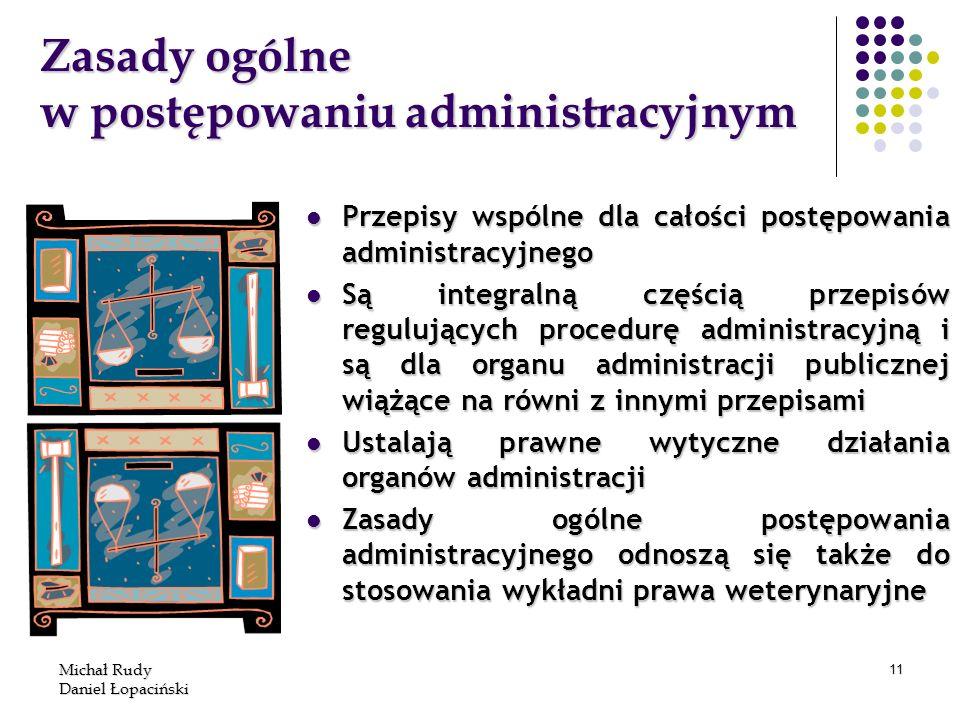 Zasady ogólne w postępowaniu administracyjnym