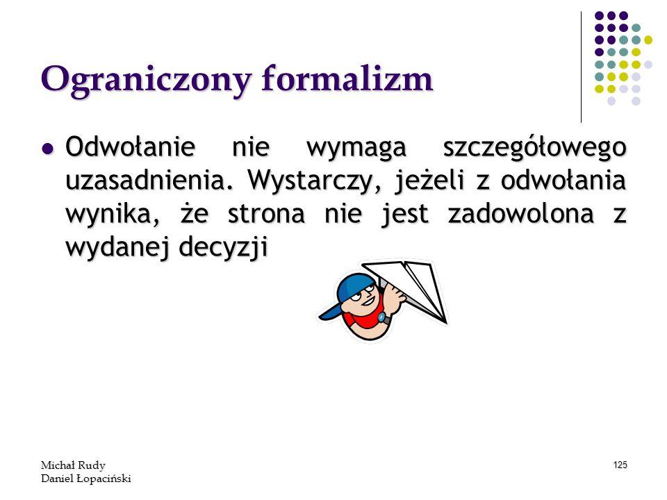 Ograniczony formalizm
