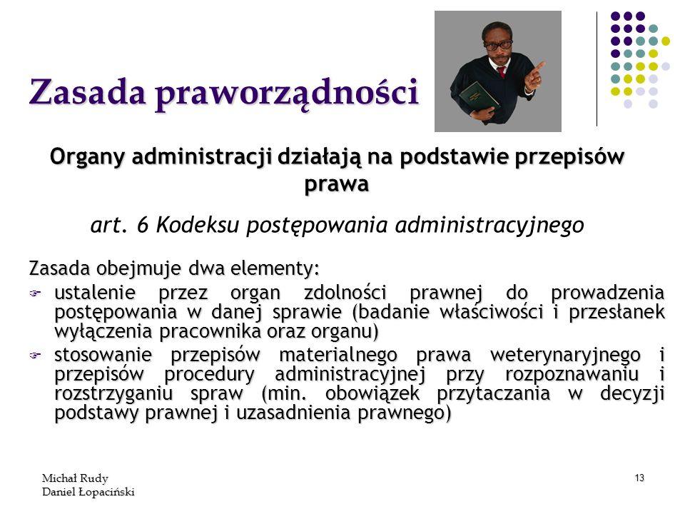 Zasada praworządności