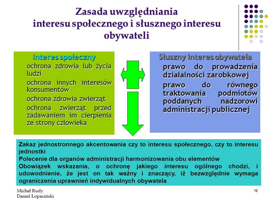 Słuszny interes obywatela