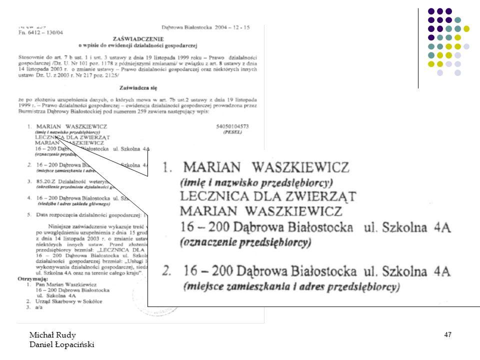 Michał Rudy Daniel Łopaciński