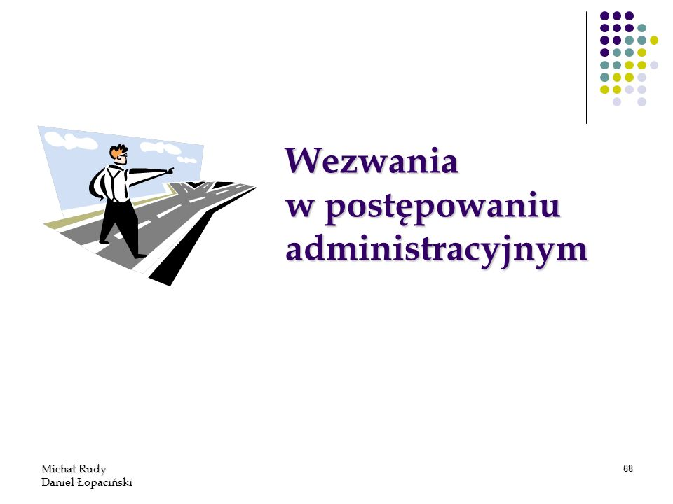 Wezwania w postępowaniu administracyjnym