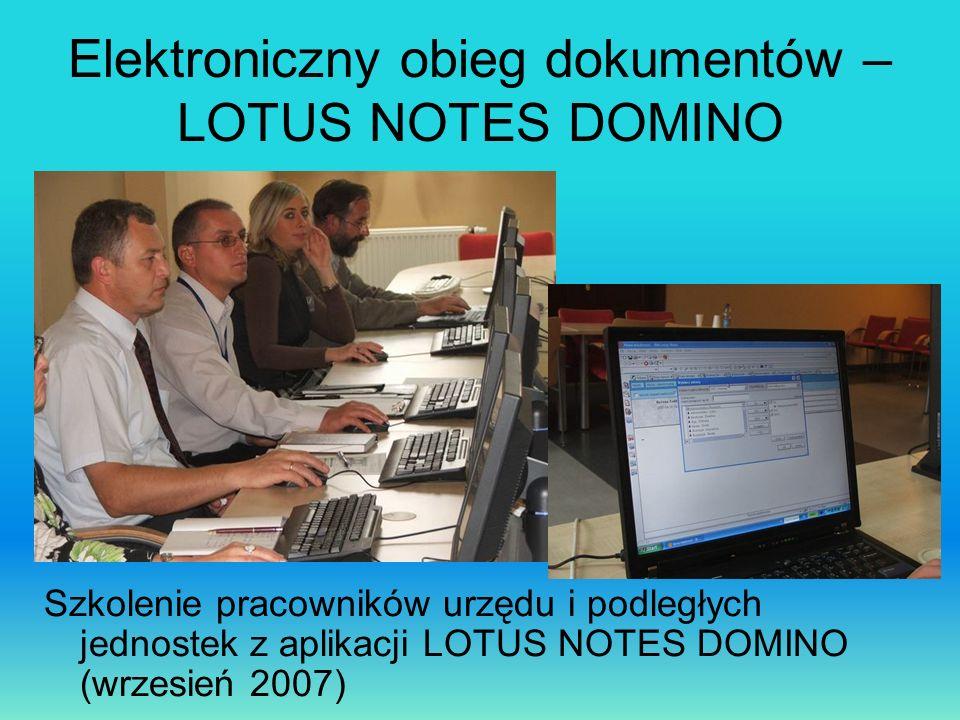 Elektroniczny obieg dokumentów – LOTUS NOTES DOMINO