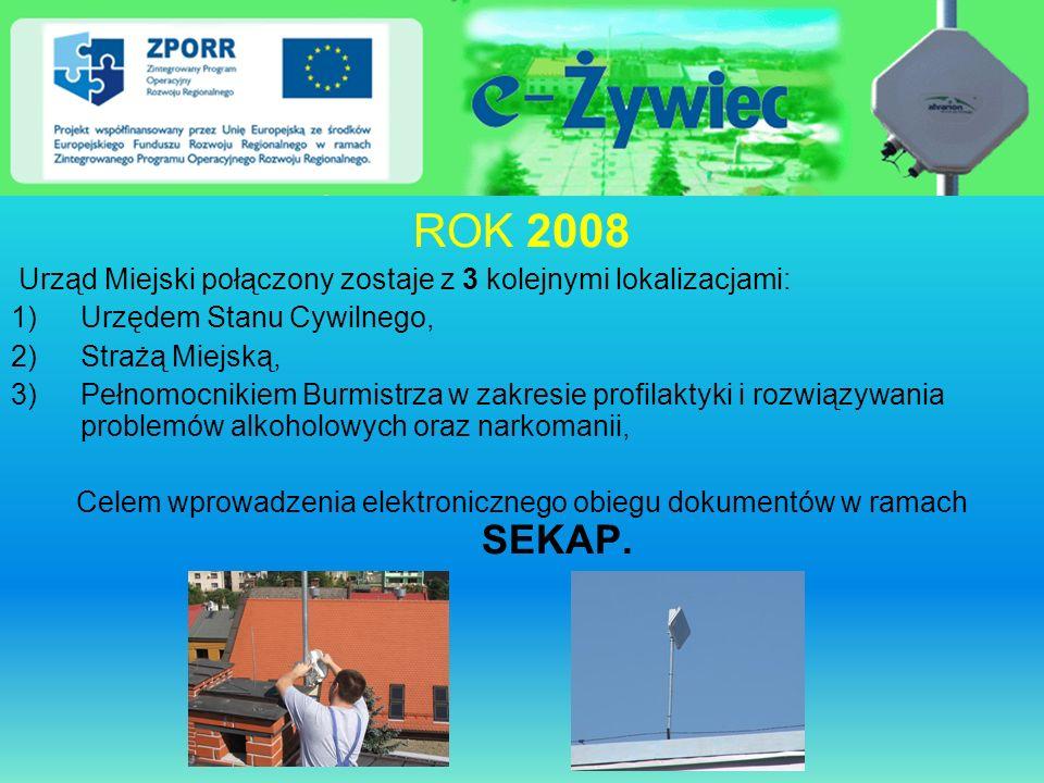 Celem wprowadzenia elektronicznego obiegu dokumentów w ramach SEKAP.