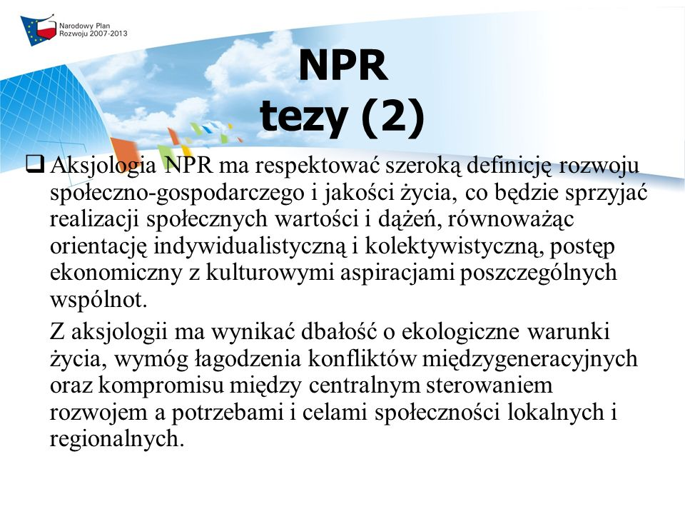 NPR tezy (2)