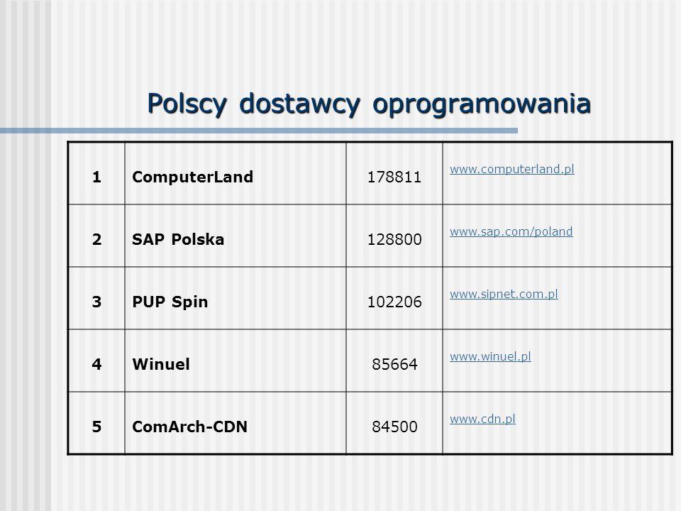 Polscy dostawcy oprogramowania