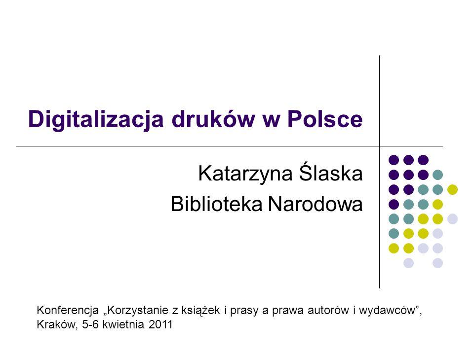 Digitalizacja druków w Polsce