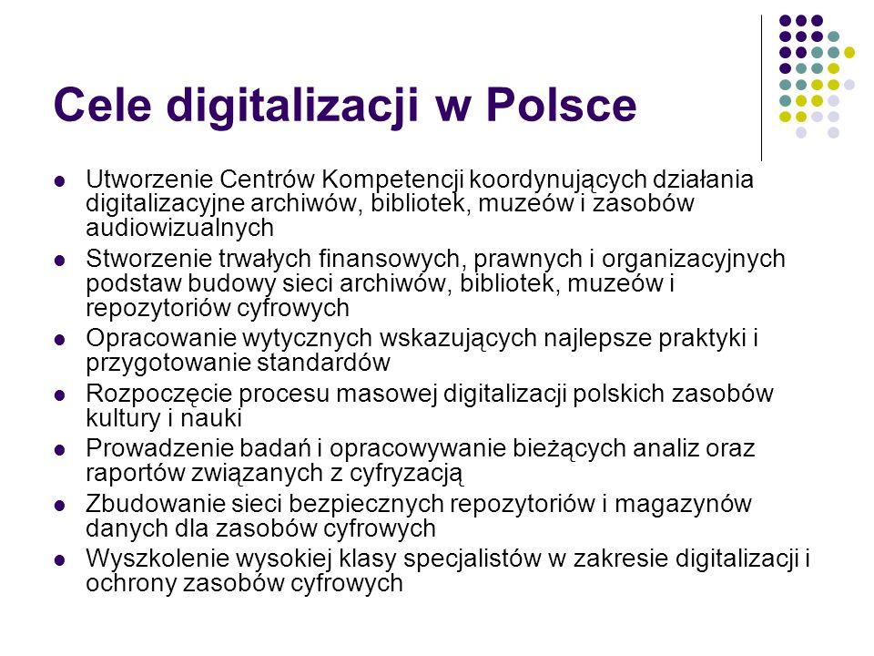 Cele digitalizacji w Polsce