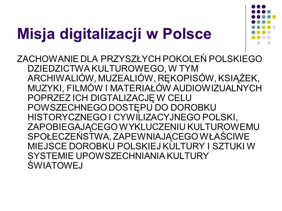 Misja digitalizacji w Polsce