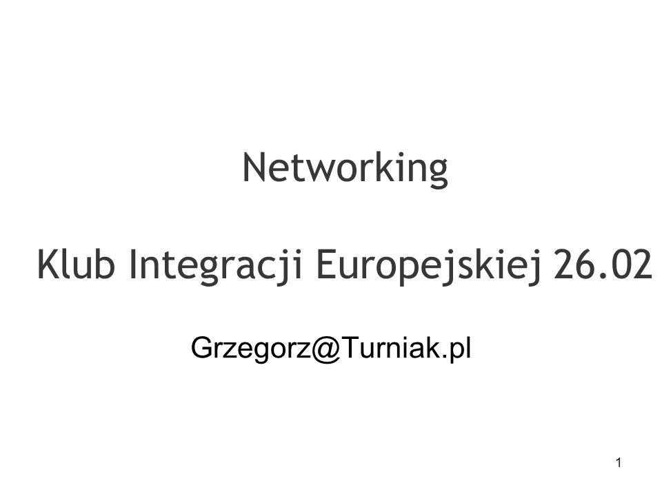 Networking Klub Integracji Europejskiej 26.02