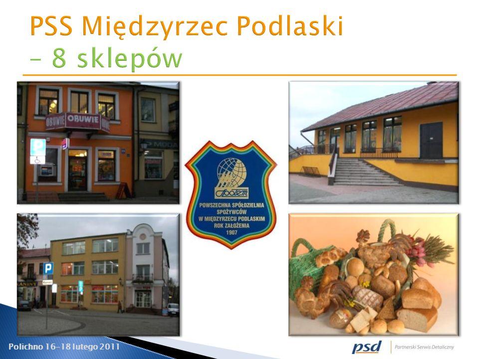 PSS Międzyrzec Podlaski – 8 sklepów