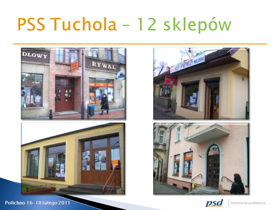 PSS Tuchola – 12 sklepów