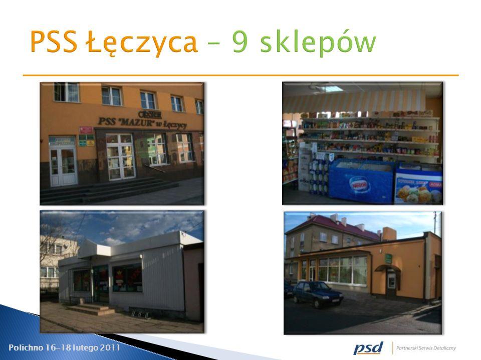 PSS Łęczyca – 9 sklepów