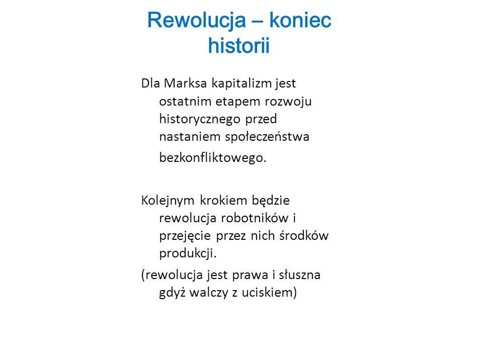 Rewolucja – koniec historii
