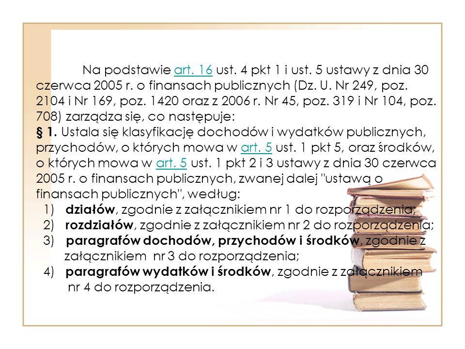 Na podstawie art. 16 ust. 4 pkt 1 i ust