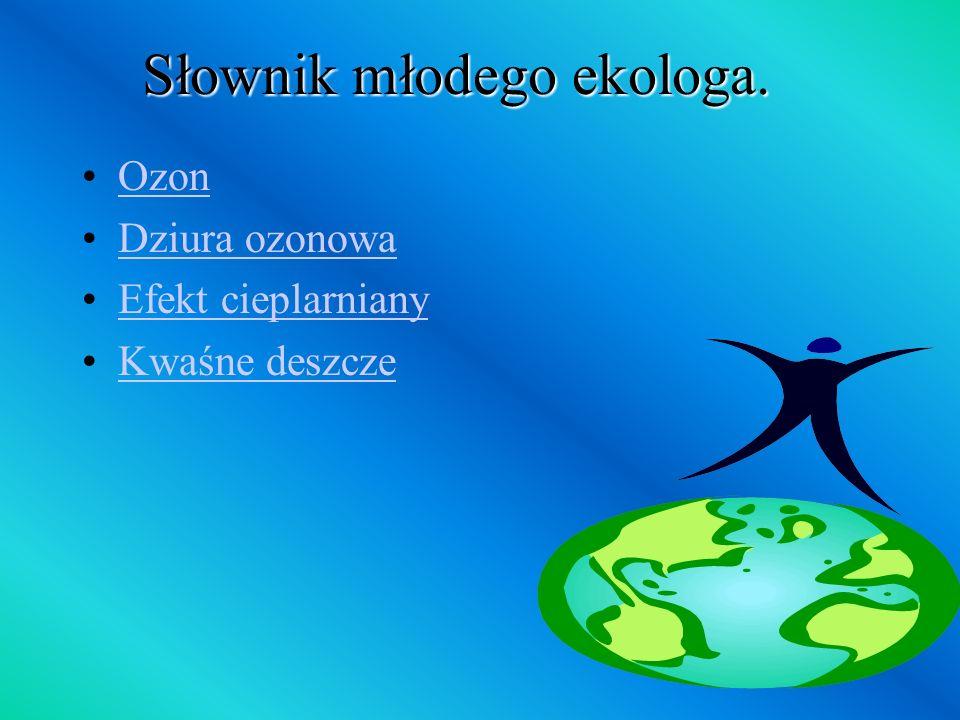 Słownik młodego ekologa.