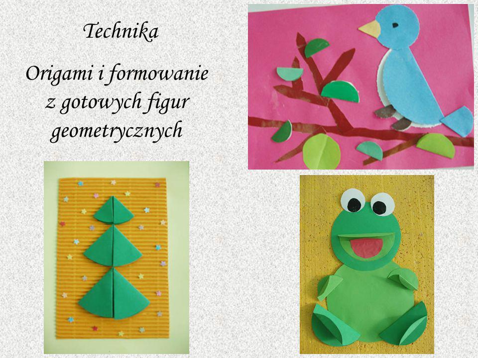 Origami i formowanie z gotowych figur geometrycznych