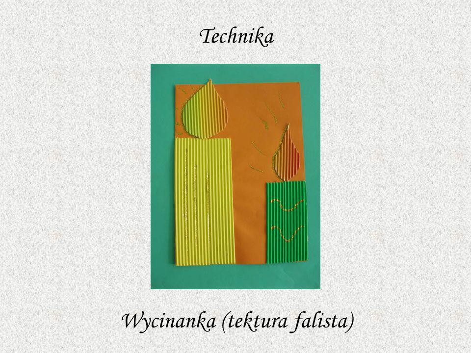 Wycinanka (tektura falista)