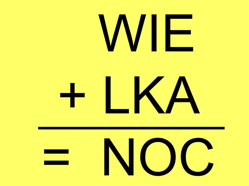 WIE + LKA = NOC