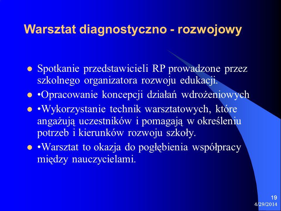 Warsztat diagnostyczno - rozwojowy