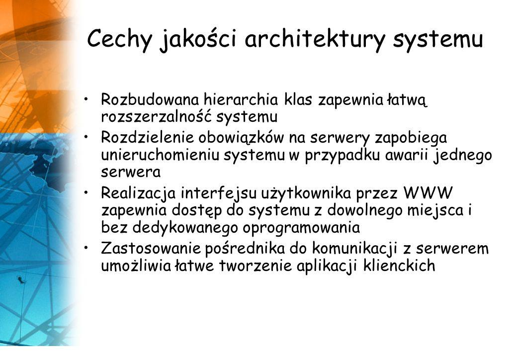 Cechy jakości architektury systemu