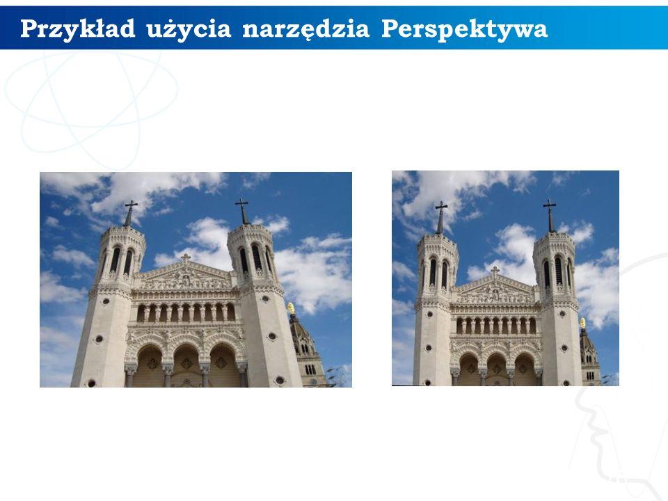 Przykład użycia narzędzia Perspektywa