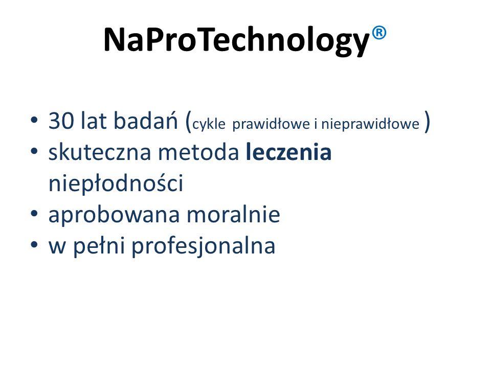 NaProTechnology® 30 lat badań (cykle prawidłowe i nieprawidłowe )